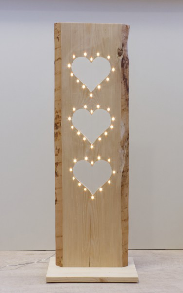 Herzbrett mit LEDs