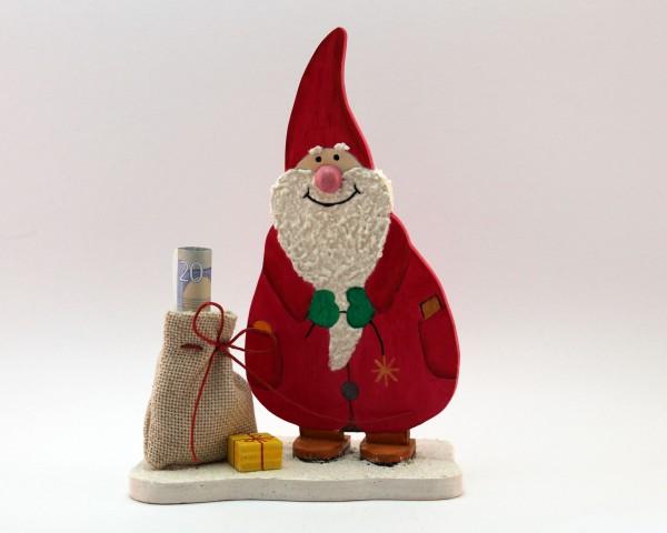 Weihnachtsmann mit füllbarem Sack