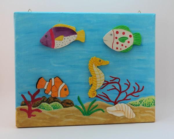 Magnetbild Aquarium